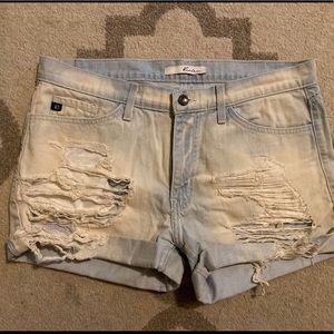 KanCan boyfriend shorts